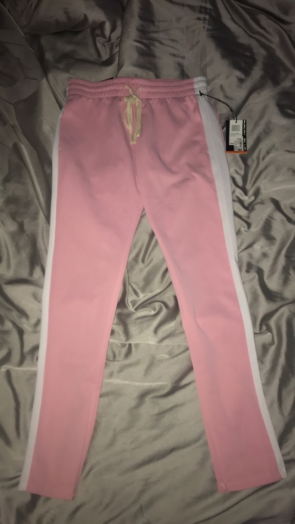 Light pink sweatpants