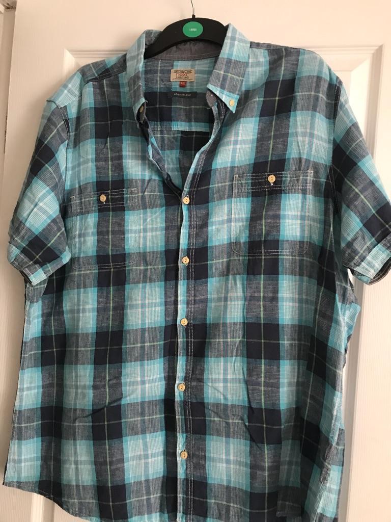 Next men's linen shirt 2xl