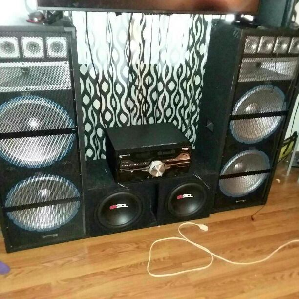 Technical pro DV4000 Stereo system