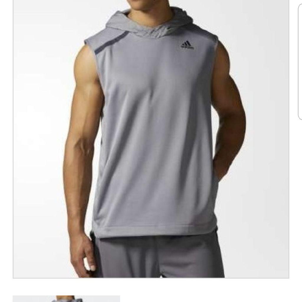 Mens Adidas shooter hoodie, BNWT