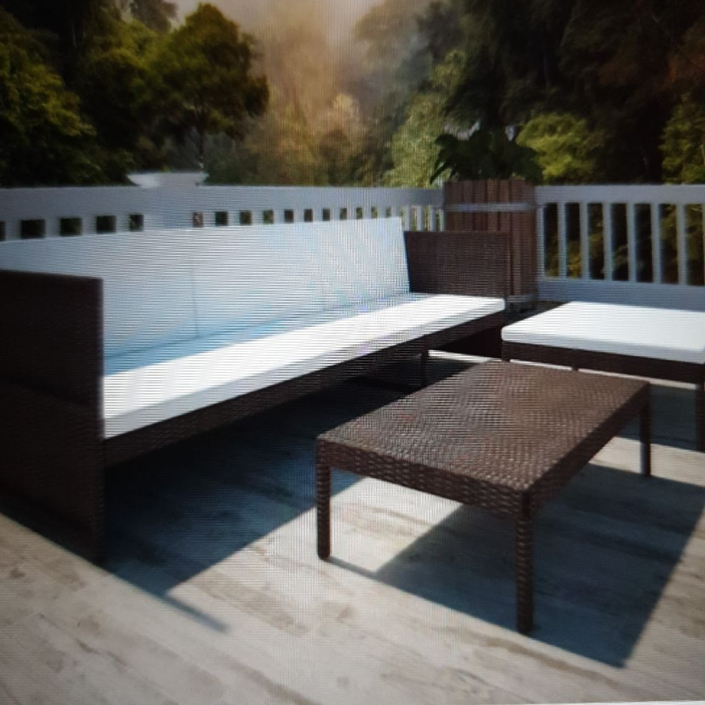 Rattan garden set