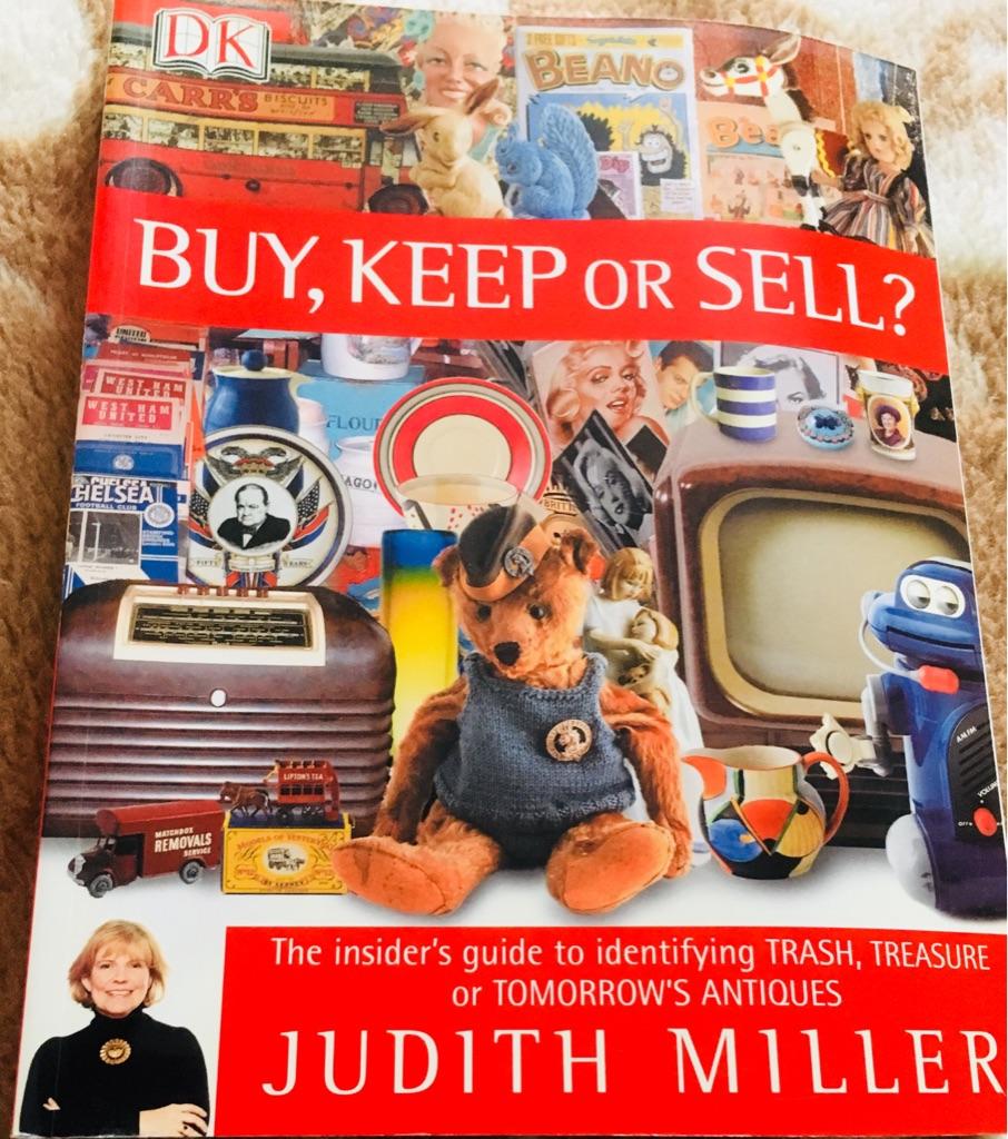 BOOK / ENCYCLOPAEDIA - ANTIQUES BUY, KEEP OR SELL