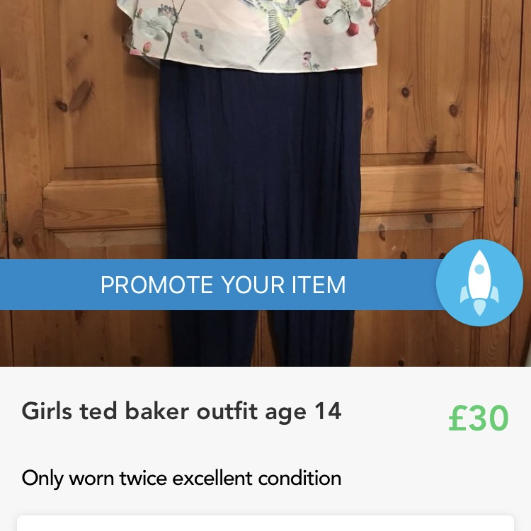 Ted baker age 14 years