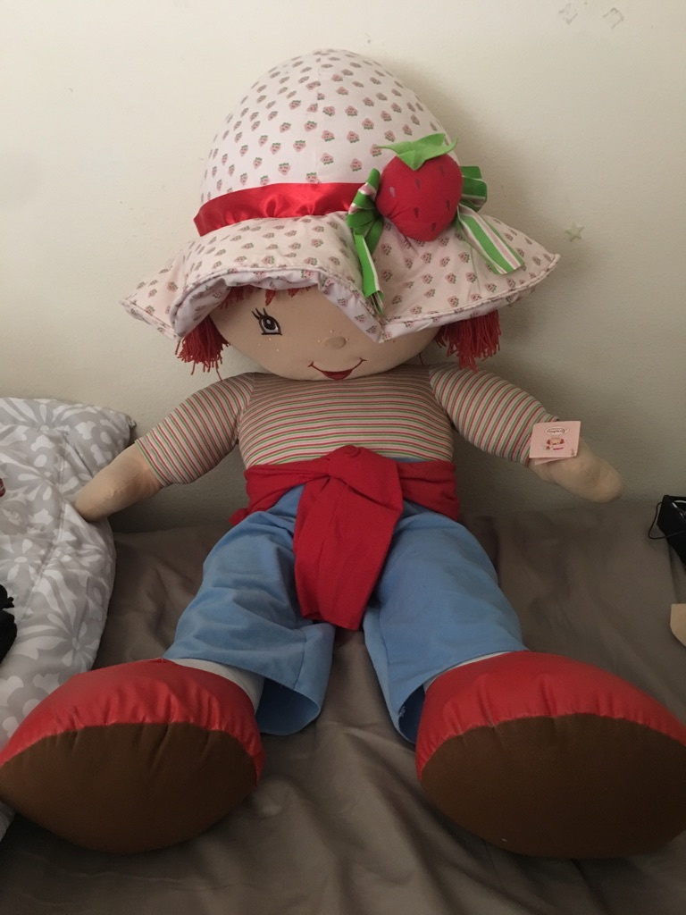 Strawberry Shortcake Plush Doll - Classic