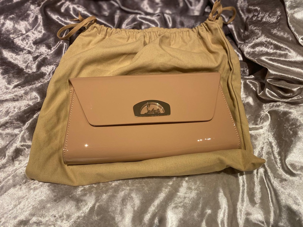 Louboutin So Kate Clutch Bag