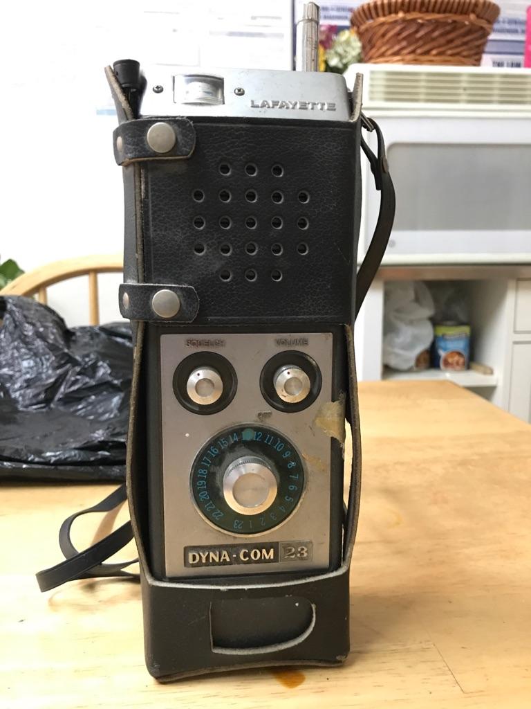 Vintage Lafayette Dyna-com 23a CB radio