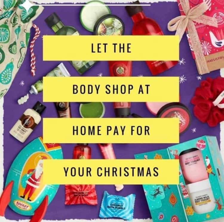 I am an Area Manager for The Body Shop at Home!