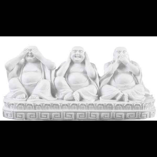 See, Speak, Hear No Evil Buddhas