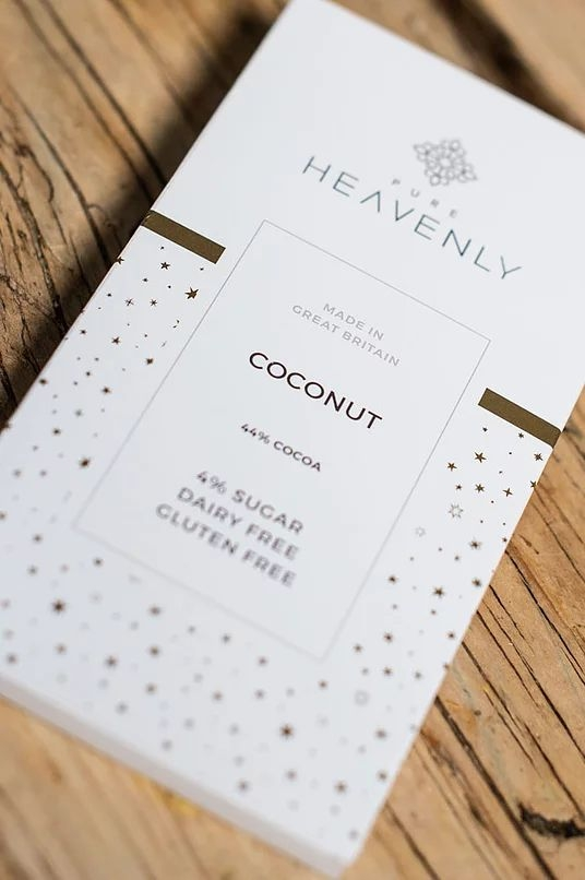 Coconut Flavoured Heavenly Chocolate