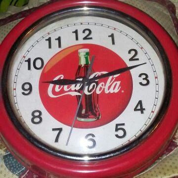 Coke cola clock