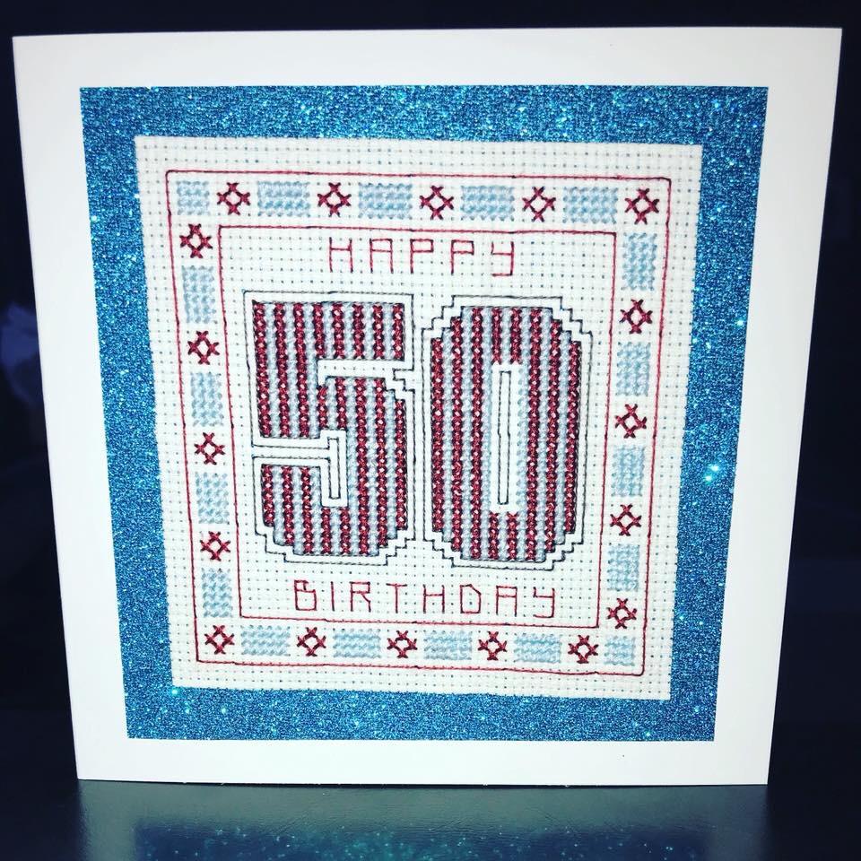 50th Birthday (Aston Villa Colours)