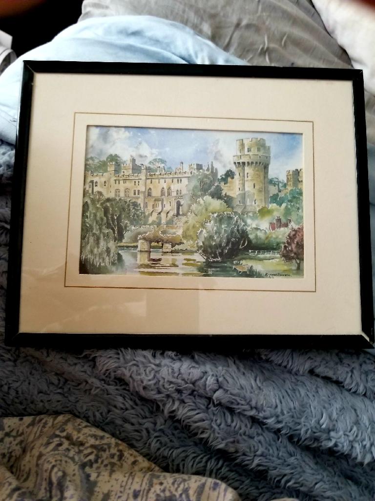 An Original Signed Print by British Artist,  Richard Tugwell