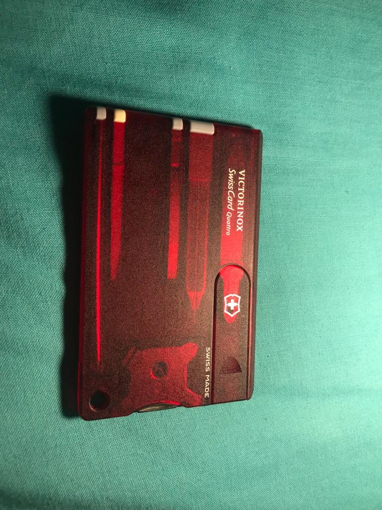 Swisscard Quattro equinox- unused