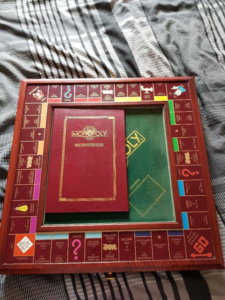 Limited edition monopoly board