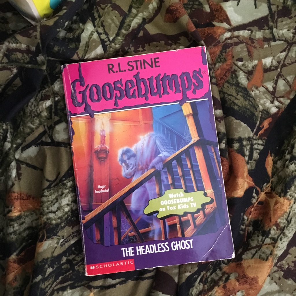 R.L. Stine The Headless Ghost