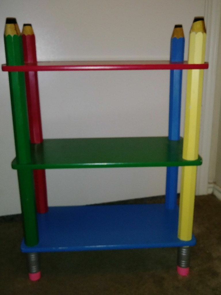 Pencil bookcase shelve *new*