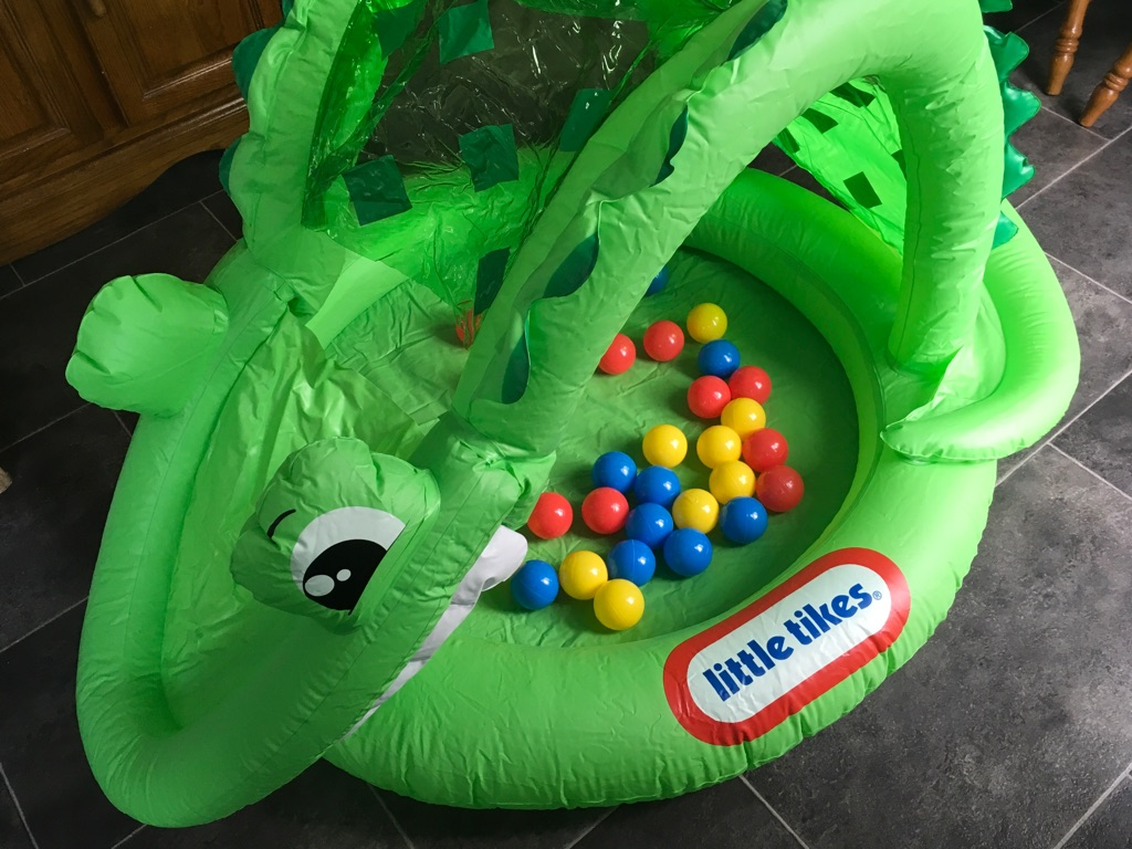 Little tikes alligator ball pit