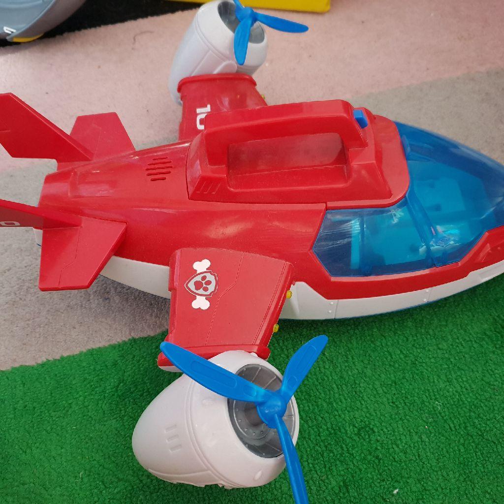 Paw patrol aeroplane