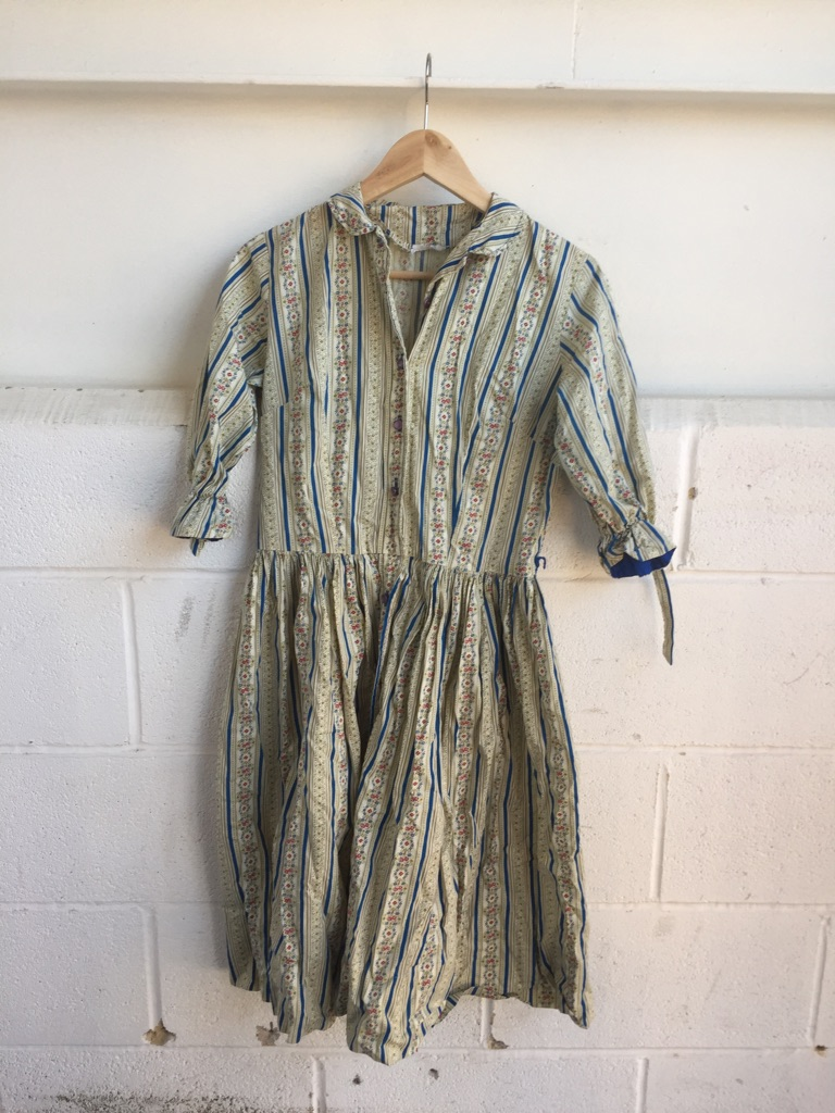 Original floral vintage dress s. 10