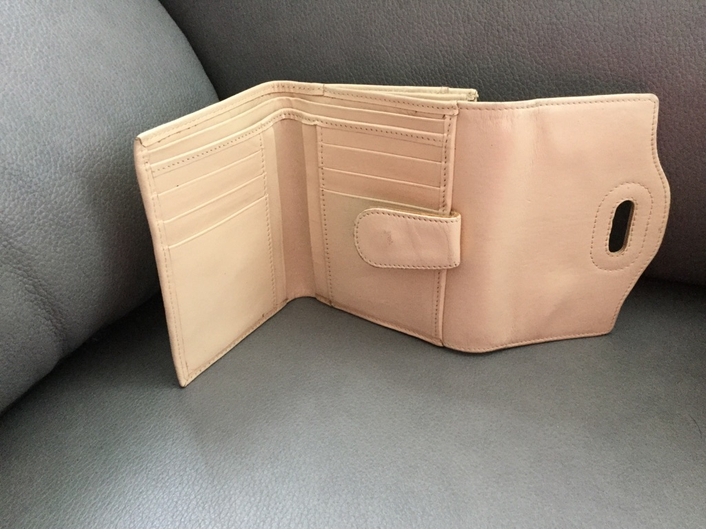 Jasper Conrad cream purse