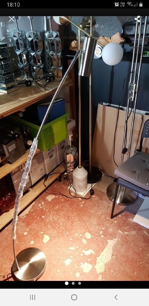 John lewis louie floor lamp