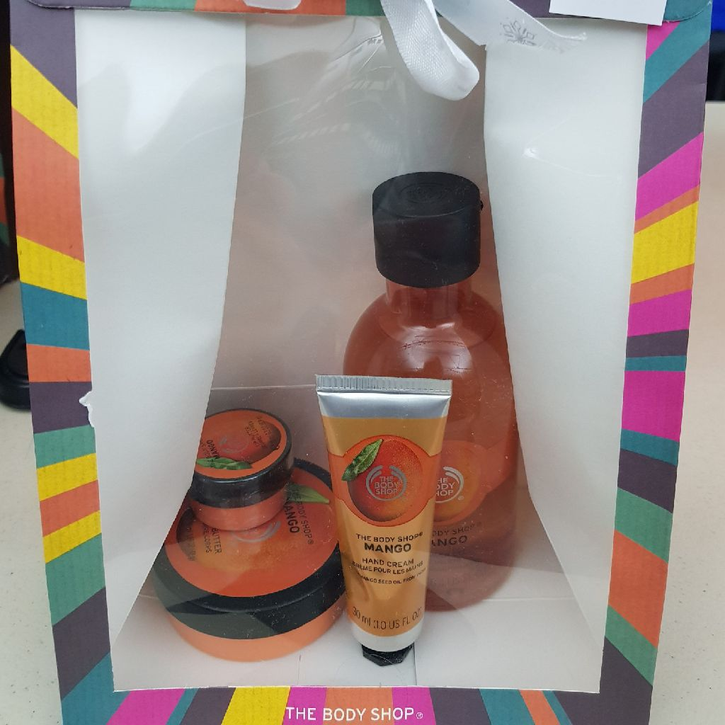 Mango body shop collection