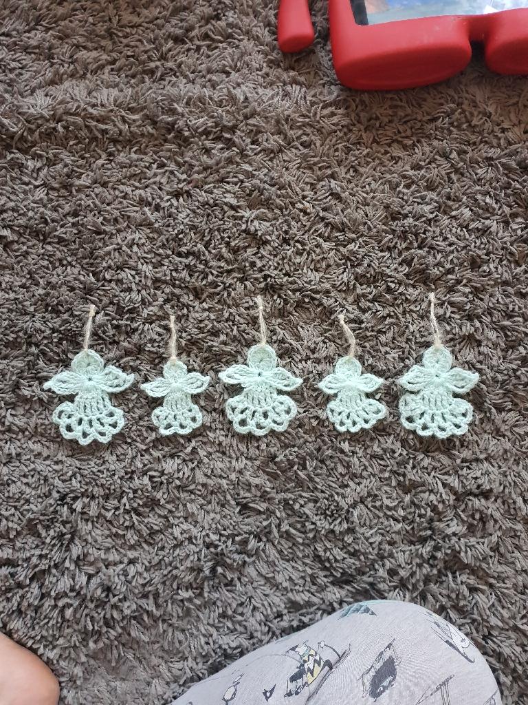Handmade crochet angels