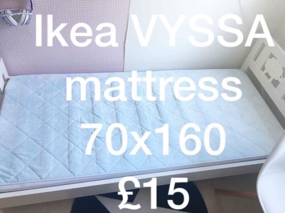 Ikea Vyssa mattress 70x160cm