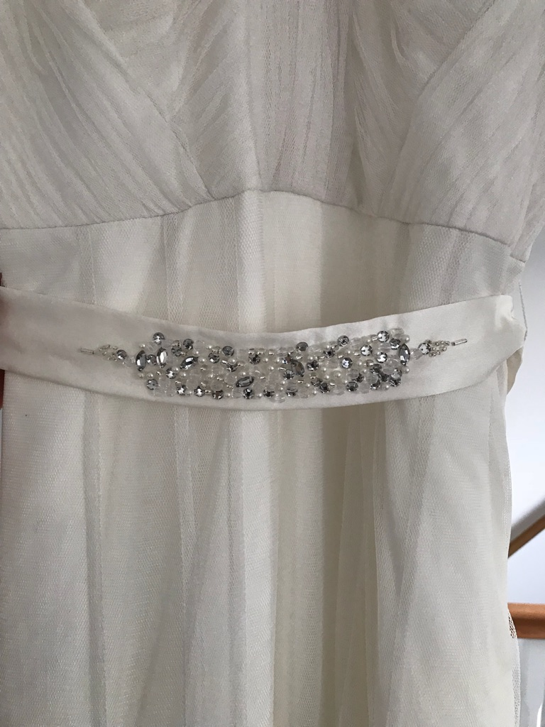 Monsoon Lana wedding dress size 8