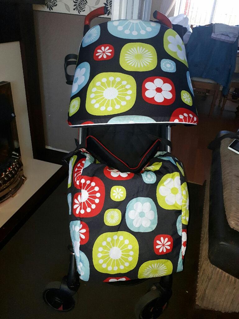 My babiee floral stroller