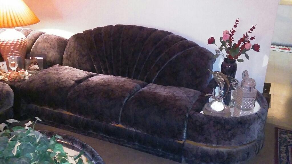Iiving room furniture black/gray