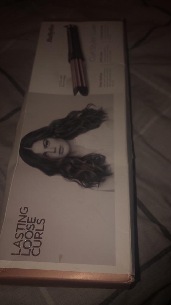Babyliss curler - lasting loose curls