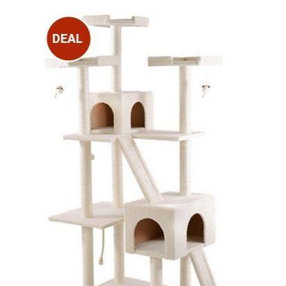 "72""  Cat tree house"