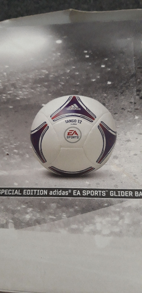 ADIDAS 2012 SPECIAL EDITION BALL NEW IN BOX