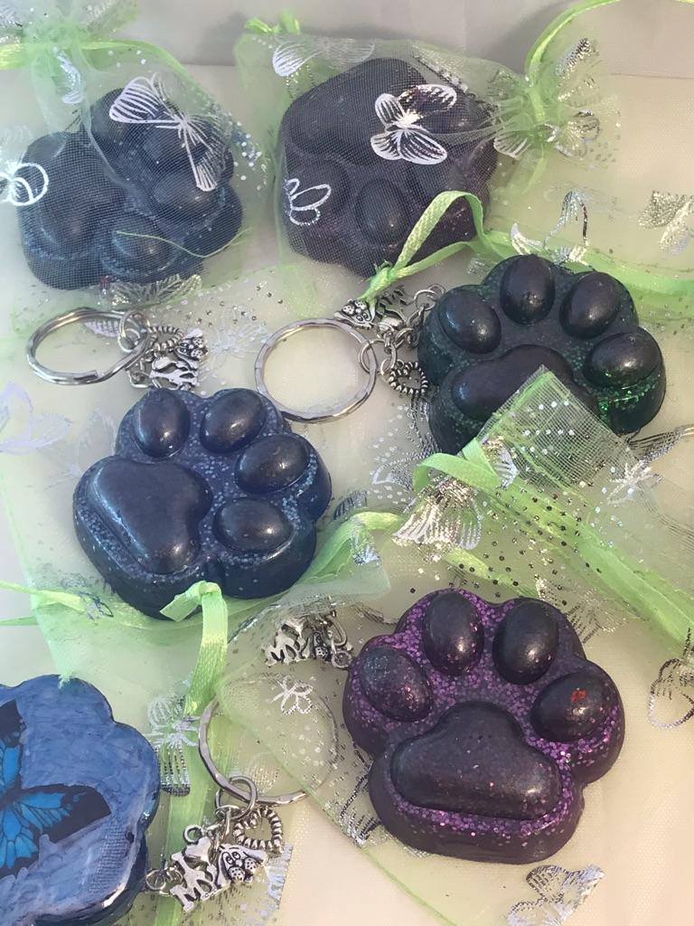 POW key ring charms