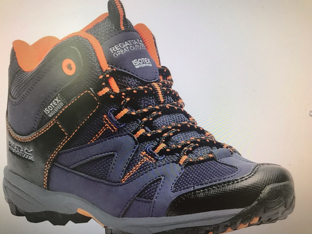 Regatta kids walking boots