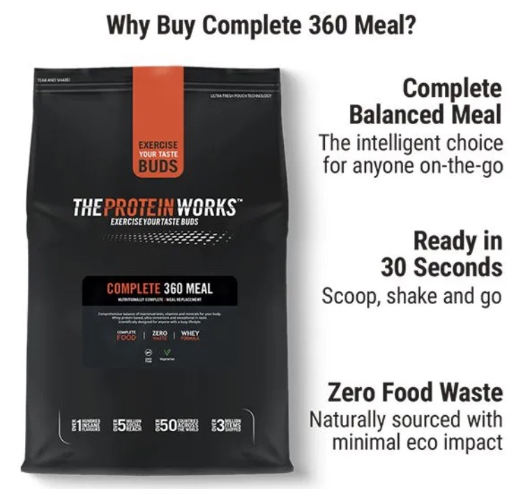 Protein 360 meal 10% off using my code below ⬇️