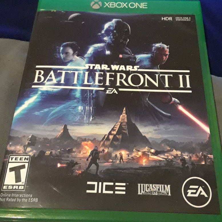 Star wars Battle front 2 Xbox one game