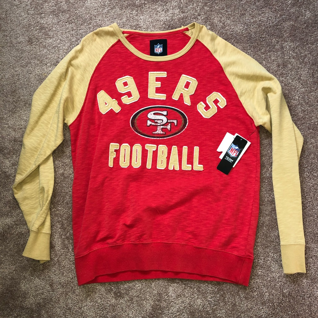 NFL 49ers sweater size L