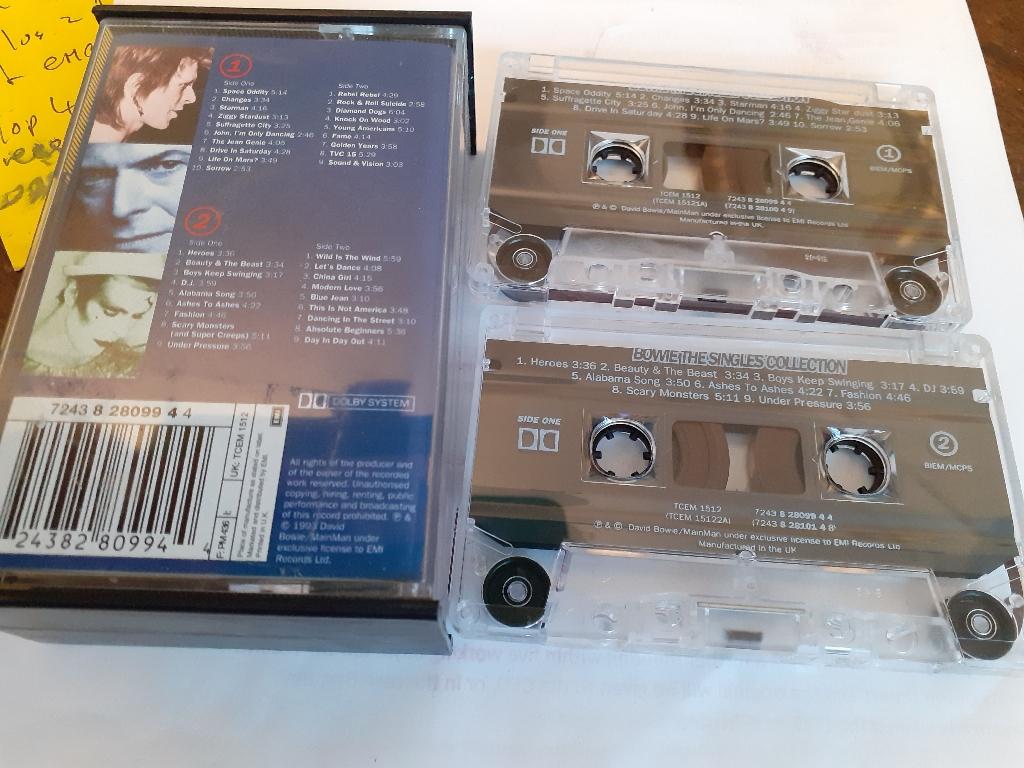 David Bowie double cassette