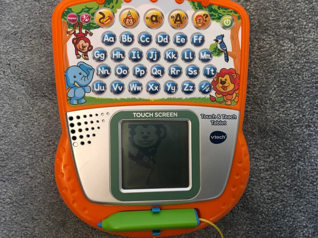 Vtech Touch & Teach Alphabet Tablet with stylus