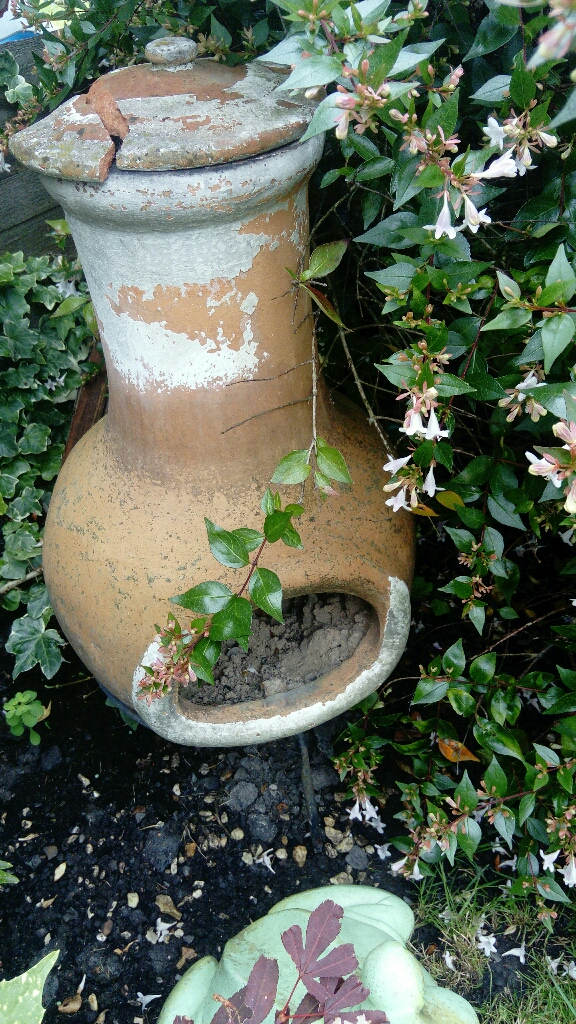 Garden chiminea