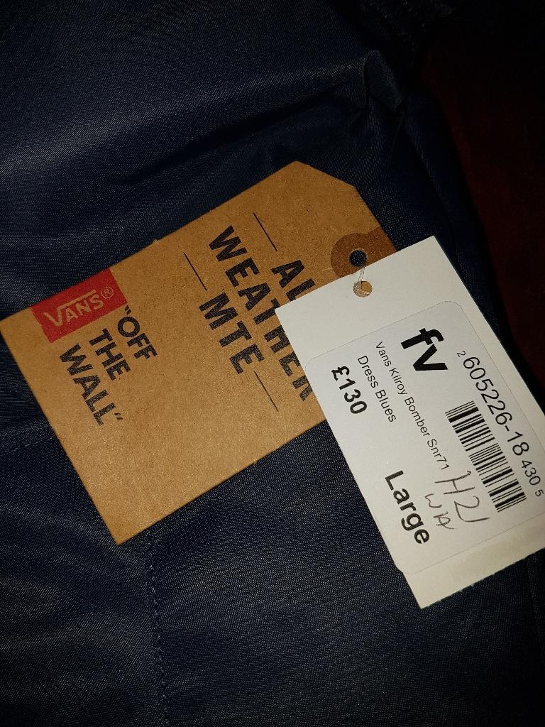 New mens VANS jacket