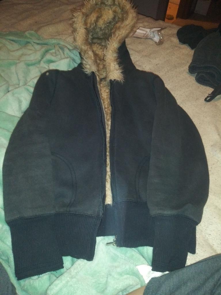 Wet seal size medium jacket womens.