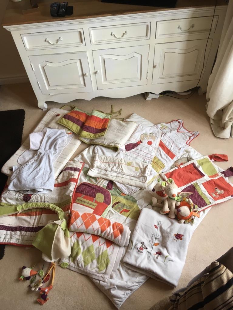 Mamas & Papas complete nursery set Hodge Podge range