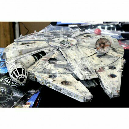 Star Wars Millennium Falcon 1.1 Replica Model Kit UNOPENED in FULL