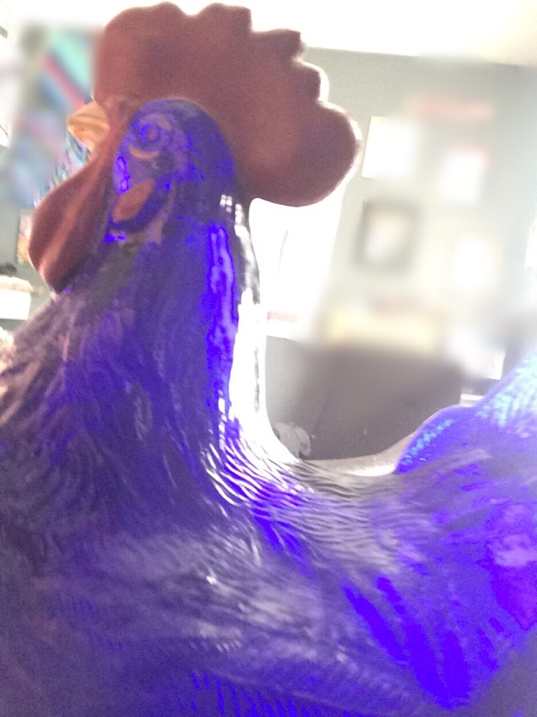 Westmoreland blue rooster
