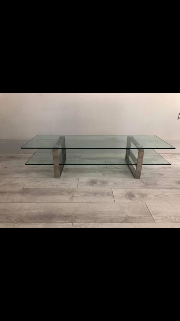 John Lewis Glass Coffee And Tv Table