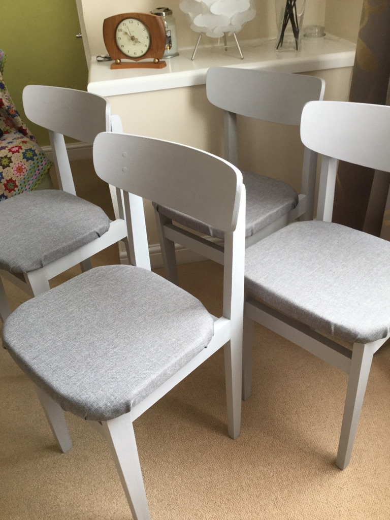 4 Mid Century Dining Chairs