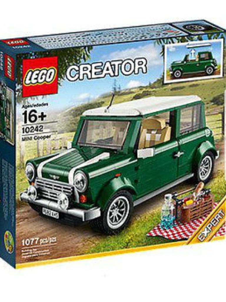 Used Lego expert mini cooper